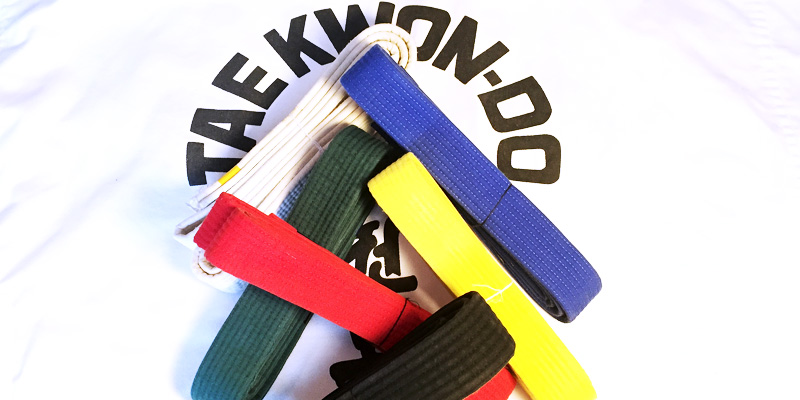Taekwon-Do belts