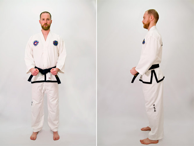 Taekwon-Do parallel ready stance