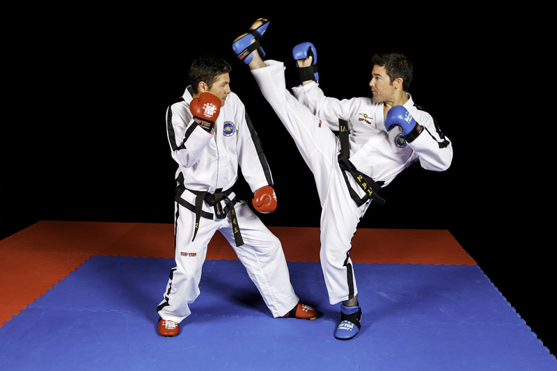 Taekwon-Do sparring