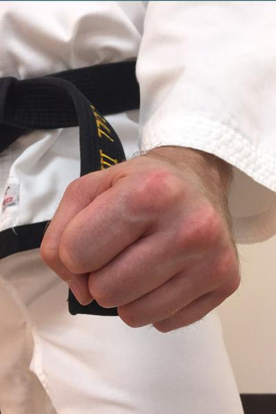 Taekwon-Do low block fist position