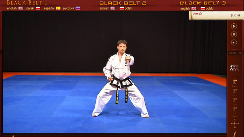 TKD Black Belt Project screenshot