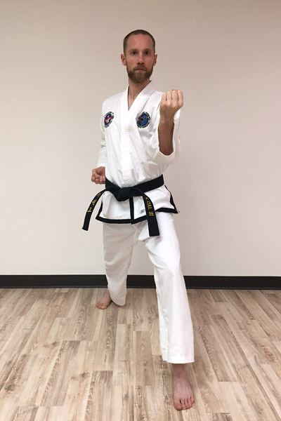 Taekwon-Do inner forearm block