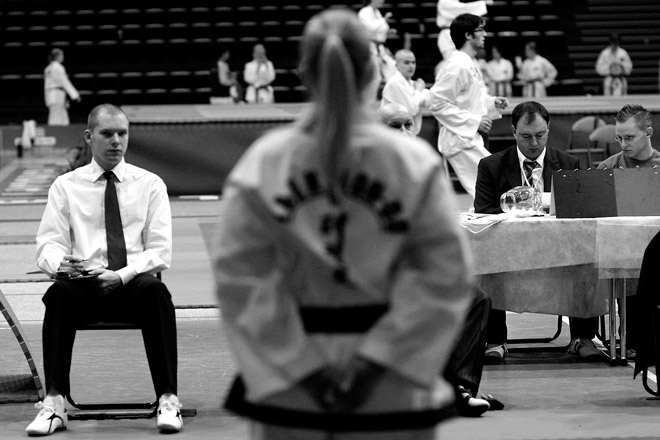 Judging Taekwon-Do patterns