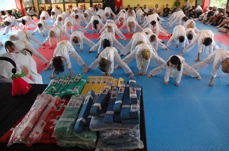 Taekwon-do belts