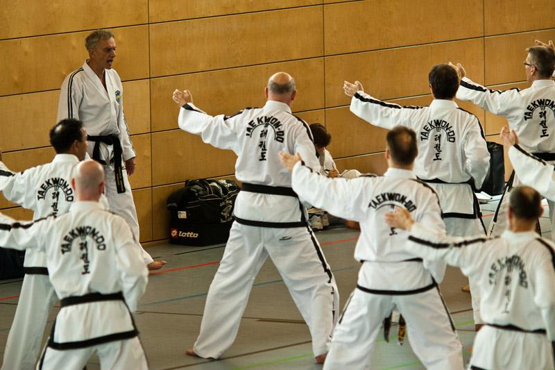 Taekwon-do black belt seminar