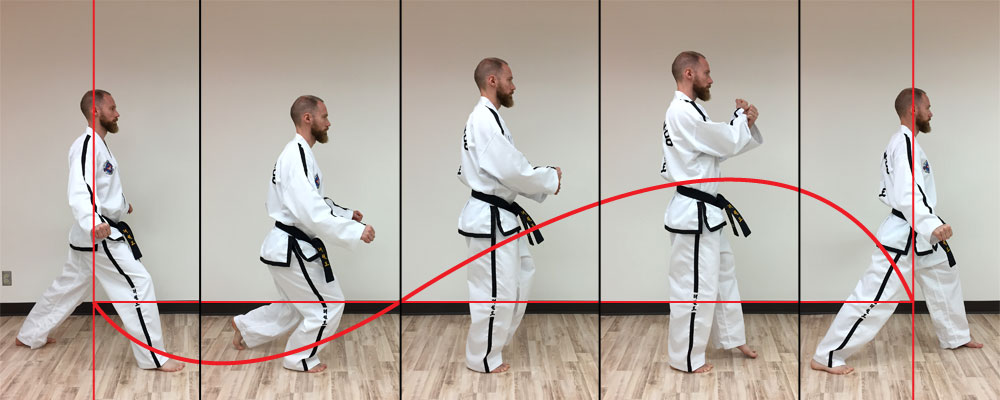 Taekwon-do sine wave