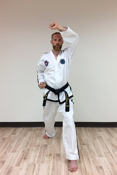 Taekwon-do's forearm rising block